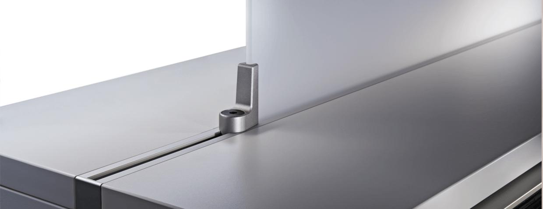Flexibles Sedus Schrank und Regal Möbel Stauraum Detail