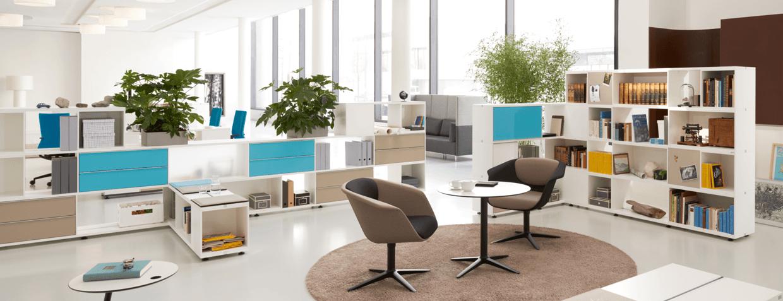 Flexibles Sedus Schrank und Regal Möbel Stauraum